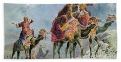 Three Wise Men Beach Sheet by Sydney Goodwin