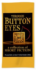 Through Button Eyes Beach Sheet