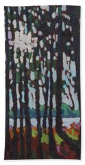 Through The Opinicon Forest Beach Towel