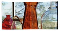 Thru The Looking Glass 1 Beach Towel by Megan Cohen