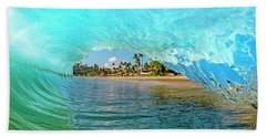 Thru The Looking Glass Beach Towel by James Roemmling
