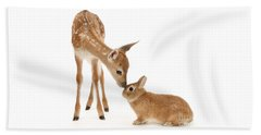 Thumper And Bambi Beach Towel