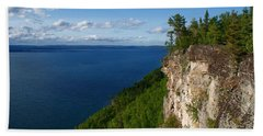 Thunder Bay Lookout Beach Towel