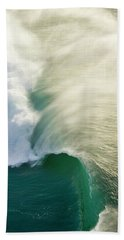 Thunder Curl Beach Towel