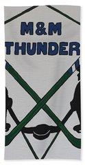 Thunder Hockey Beach Sheet