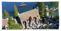 Thunderbird Lodge Aerial Beach Towel