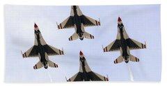 Thunderbirds Away Beach Towel