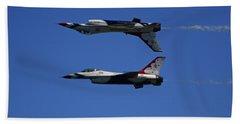 Thunderbirds Reflective Pass Beach Towel by Raymond Salani III