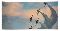 Beach Towel featuring the photograph Thunderbirds by Rick Berk