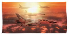 Thunderchief Dawn Beach Towel