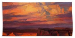 Thundercloud Over The Palouse Beach Towel