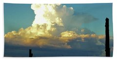 Thunderhead Cloud Beach Sheet by Deborah Moen