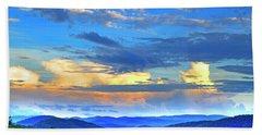 Thunderheads Beach Towel by Dale R Carlson