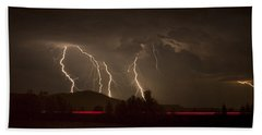 Thunderstorm IIi Beach Towel