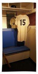 New York Yankee Captian Thurman Munson 15 Locker Beach Towel