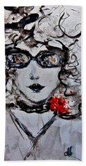 Thursday Morning.. Beach Sheet by Cristina Mihailescu