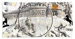 Thy Will Be Done Beach Towel