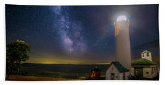 Beach Towel featuring the photograph Tibbetts Point Night by Mark Papke