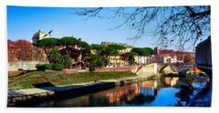 Tiber Island Beach Towel