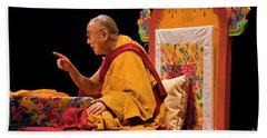 Tibetan_d149 Beach Towel