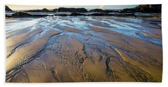 Tidal Patterns Beach Sheet