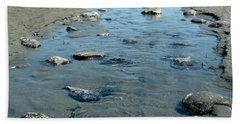 Beach Towel featuring the photograph Tidal Pools by 'REA' Gallery