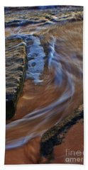 Beach Towel featuring the photograph Tide Flow by Craig Wood