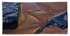 Beach Towel featuring the photograph Tide Ripple by Craig Wood
