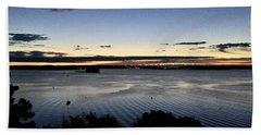 Tides At Dawn On Casco Bay Beach Sheet by Patricia E Sundik