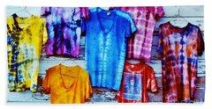 Grateful Dead Tie Dye Beach Towel by Susan Carella