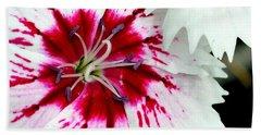 Beach Towel featuring the photograph Tie-dye Pallette by Andrea Platt