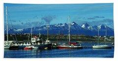 Tierra Del Fuego Beach Towel by Juergen Weiss