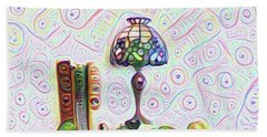 Tiffany Lamp Beach Sheet by Bill Cannon