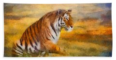 Tiger Dreams Beach Towel
