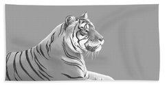 Tiger II Beach Towel