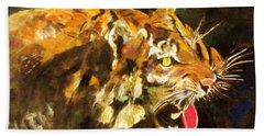 Tiger Beach Sheet by Khalid Saeed
