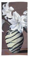 Tiger Lilies Beach Towel