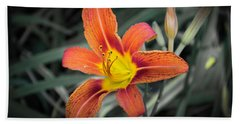 Tiger Lily 2 Beach Towel