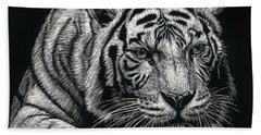 Tiger Pause Beach Sheet