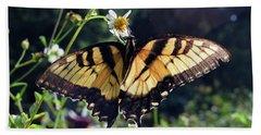 Tiger Swallowtail Beach Towel