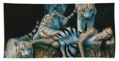 Tigress Beach Towel