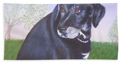 Tiko, Lovable Family Pet. Beach Towel