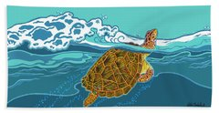 Tilly The Turtle Beach Towel