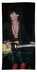 Tim Farriss Of Inxs Beach Towel