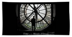 Time At The Musee D'orsay Beach Sheet