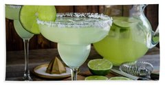 Beach Towel featuring the photograph Time For Margaritas by Teri Virbickis