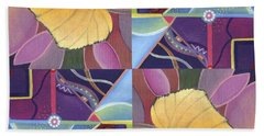 Time Goes By - The Joy Of Design Series Arrangement Beach Towel