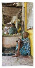 Kumarakom Beach Sheet by Marion Galt