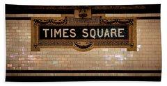 Time Square Beach Sheet