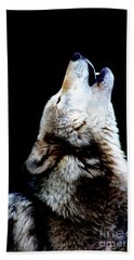 Time To Howl Beach Towel